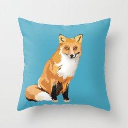 You Sly Fox Throw Pillow