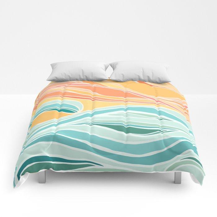 Sea and Sky II Comforters