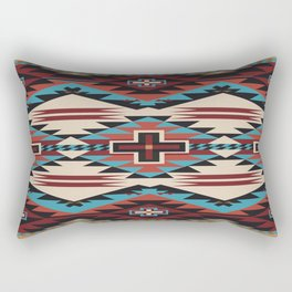 American Native Pattern No. 22 Rectangular Pillow