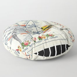 You Like This in London Floor Pillow