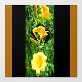 Flora Gold II Canvas Print