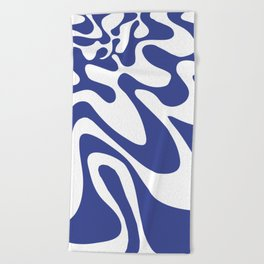 Swirly Whirly: Abstract Pop Art Painting by Bruce Gray Beach Towel