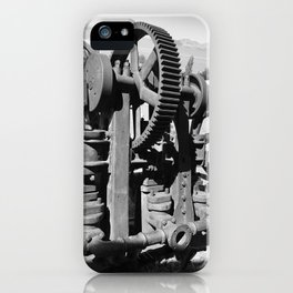 Gears of history iPhone Case