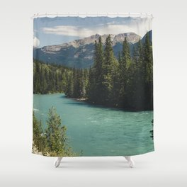 Tête Jaune Cache Shower Curtain