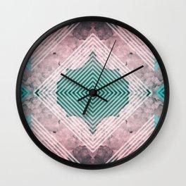 Sky Tile Wall Clock