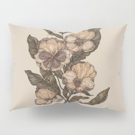 Pansy Pillow Sham