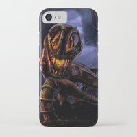 castlevania iPhone & iPod Cases featuring Castlevania: The Bridge by FirebornForm