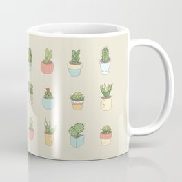 Cute Succulents Coffee Mug