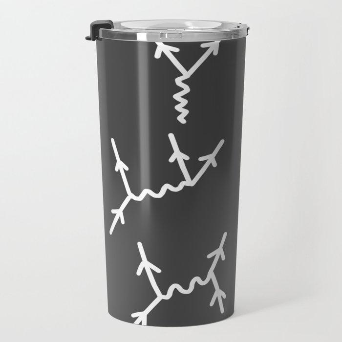 Feynman diagrams Travel Mug