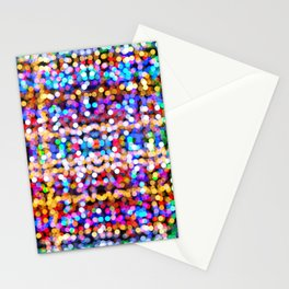 Multicolored lamp shades Stationery Cards