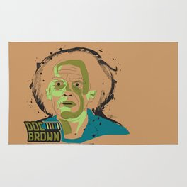 Doc Brown_INK - Back to the Future Rug