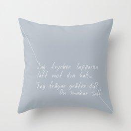 Chans Throw Pillow