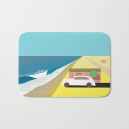 Mar de Cortez (square) Bath Mat