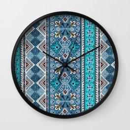 Grand Bazaar - Blue Wall Clock