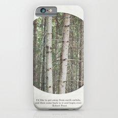 robert frost's birch trees Slim Case iPhone 6s