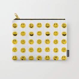 Cute Emoji pattern Carry-All Pouch