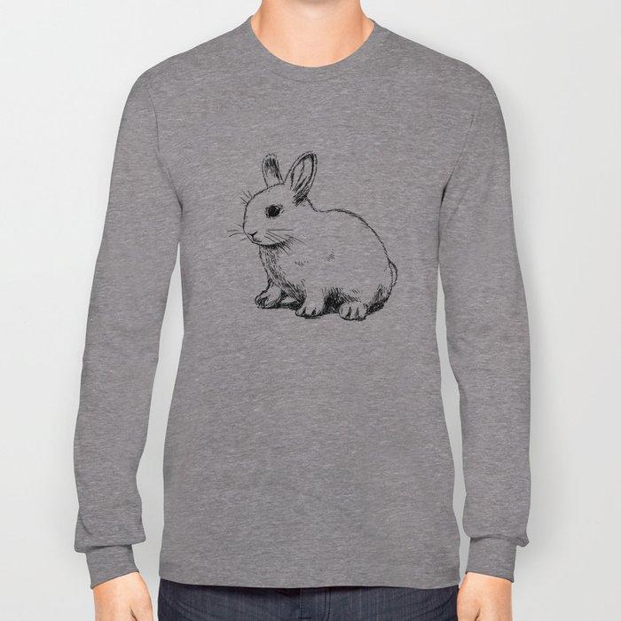 Cute bunny kids decor Long Sleeve T-shirt