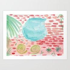 The Bowl Art Print