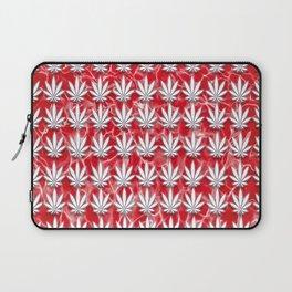Red Leaf Laptop Sleeve