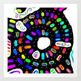 Circular 28 Art Print