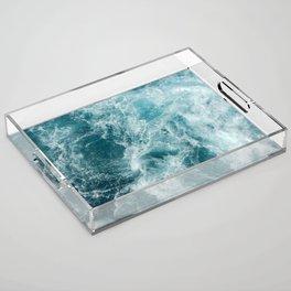 Sea Acrylic Tray