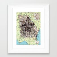 georgia Framed Art Prints featuring Georgia by Ursula Rodgers