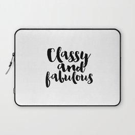 Girls Room Decor Girly Gifts Fashion Wall Art Printable Women Gift Fashion Art Fashion Print Quotes Laptop Sleeve