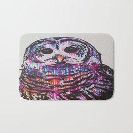 Something like an Owl Bath Mat