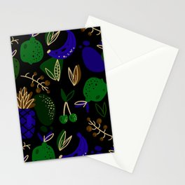 Colorful Fruits Stationery Cards