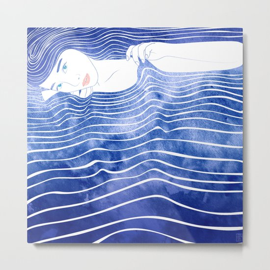 Water Nymph LXVI Metal Print