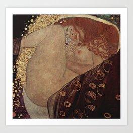 Danae  - Gustav Klimt Art Print