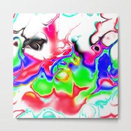 Vivid bright fractal 2 Metal Print