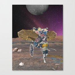Space scavenger Canvas Print