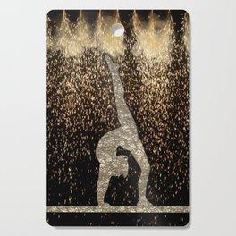 Sparkle Gymnast Cutting Board