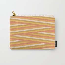 stripey sunny square Carry-All Pouch