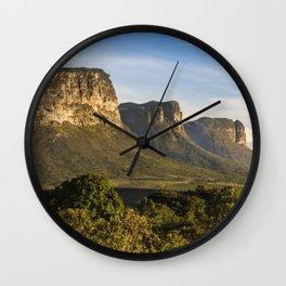 Chapada Diamantina Wall Clock
