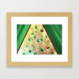 The View At Christmas Framed Art Print