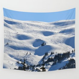 Back-Country Skiing - II Wall Tapestry