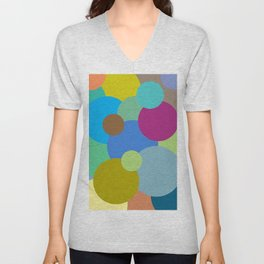 Circles of life Unisex V-Neck