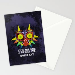 Majora's Mask Splatter (Quote) Stationery Cards