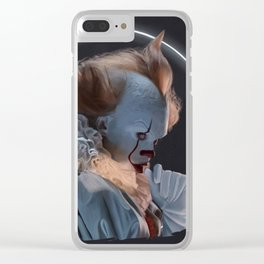 Pennywise glowing Clear iPhone Case