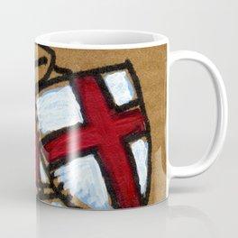 Templar Ape with Sword Coffee Mug