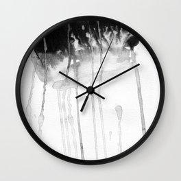 Rain etude Wall Clock