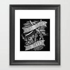 Cultured, Cultivated, and Trimmed Framed Art Print