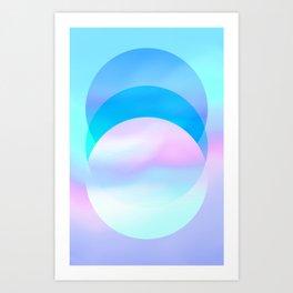 Transcending Art Print