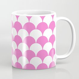 Fan Pattern 321 Pink Coffee Mug