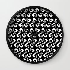 Snooty pattern Wall Clock