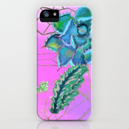 Cactus & Prism iPhone Case