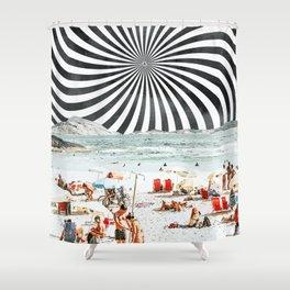 Summer On The Beach #digitalart #travel Shower Curtain