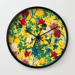 Fertile Forest Wall Clock